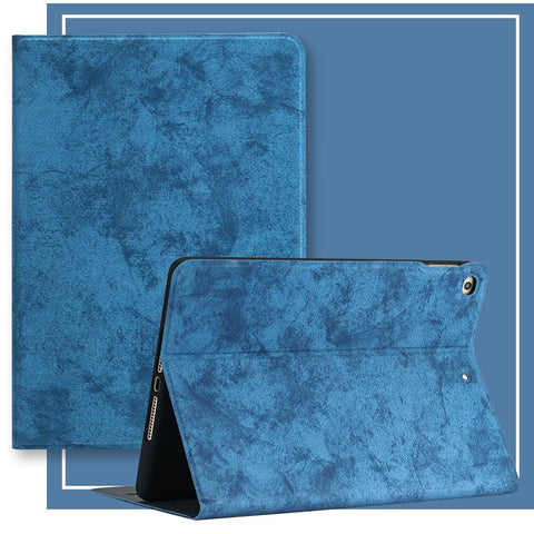Pure Color Foldable Lightweight iPad Cover Case gallery 3
