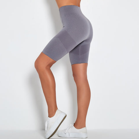Contrast Panel Wide Waistband Sports Shorts gallery 3