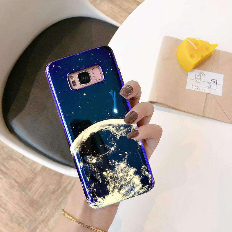 Samsung Earth Design Deep Blue Case
