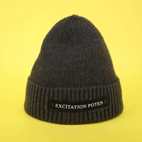 Monogrammed Thick Knitted Woolen Hat for Men and Women gallery 6