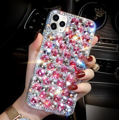 Full Rhinestone Cover Shockproof Phone Case for Samsung gallery 10