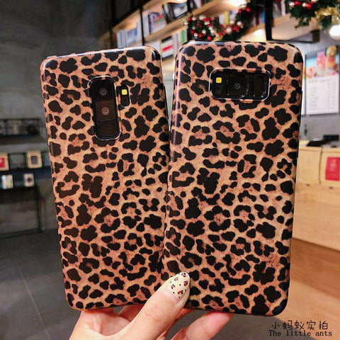 Retro Leopard Phone Case for Samsung gallery 8