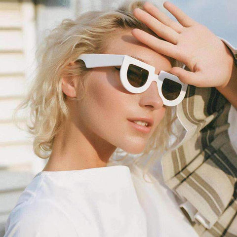 Chic Oval Shape Lens with wide Frame Sunglasses gallery 1