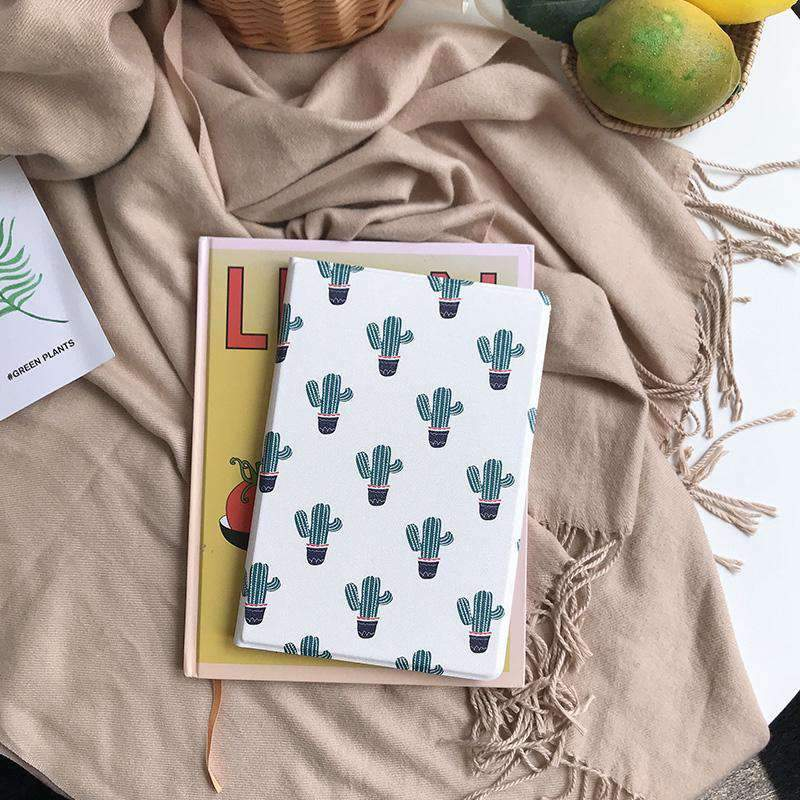Contracted Literary Cactus Painted Apple iPad Cover Case