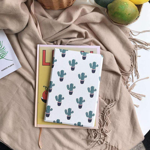 Contracted Literary Cactus Painted Apple iPad Cover Case gallery 1