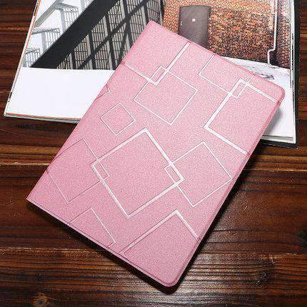 Contracted Square Pattern Apple iPad Cover Case gallery 2