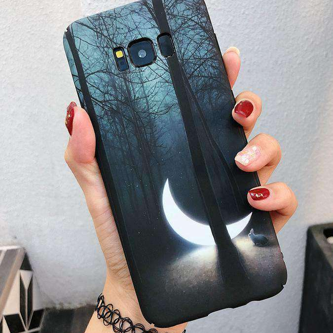 Mysterious Moon Phone Case for Samsung
