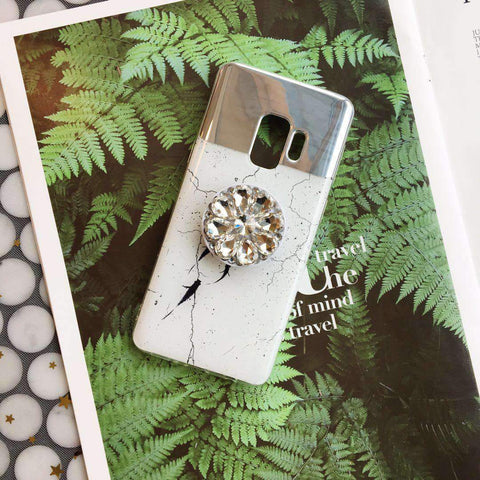 Dreamy Mirror Design Phone Case for Samsung with Phone Holder gallery 3