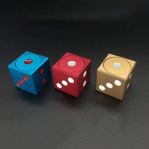 3/4/5 Pcs Colored Decompression Spinner Cube gallery 1