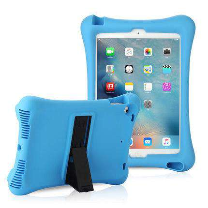 Soft Silicon iPad Cover Case with Holder gallery 3