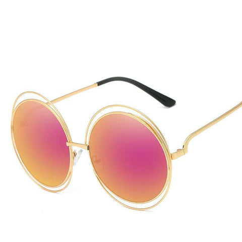 Ombre Double Frame Hollowed Sunglasses gallery 8