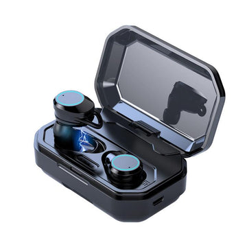TWS Touch Control & IPX6 Waterproof Wireless Headset with Microphone