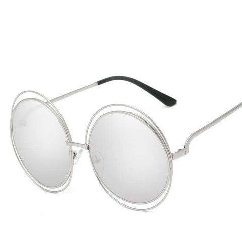 Ombre Double Frame Hollowed Sunglasses gallery 12