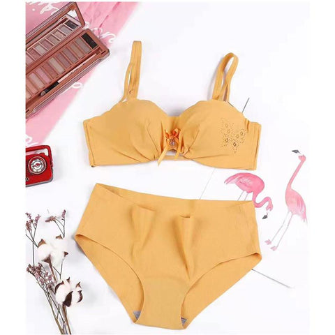Basic Comfort Push Up Bra and Panty Set