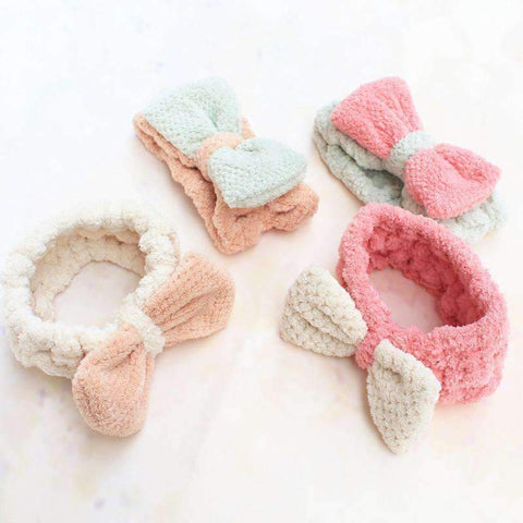 Candy Color Bow Knot Headband