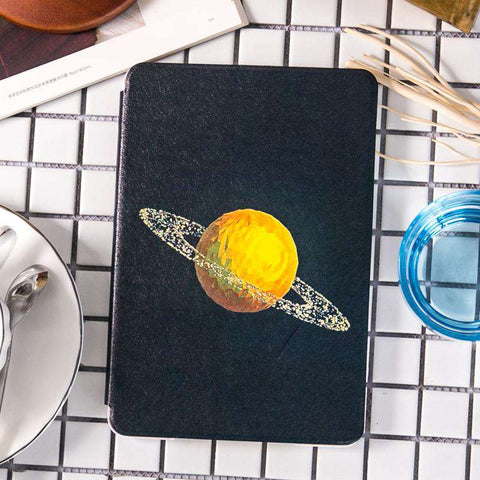 Space Astronaut Star Painted Apple iPad Cover Case gallery 1