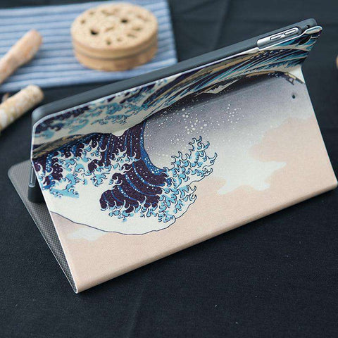 Waves Pattern Apple iPad Cover Case gallery 5