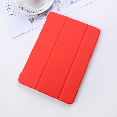 Pure Color Foldable iPad Cover Case gallery 7