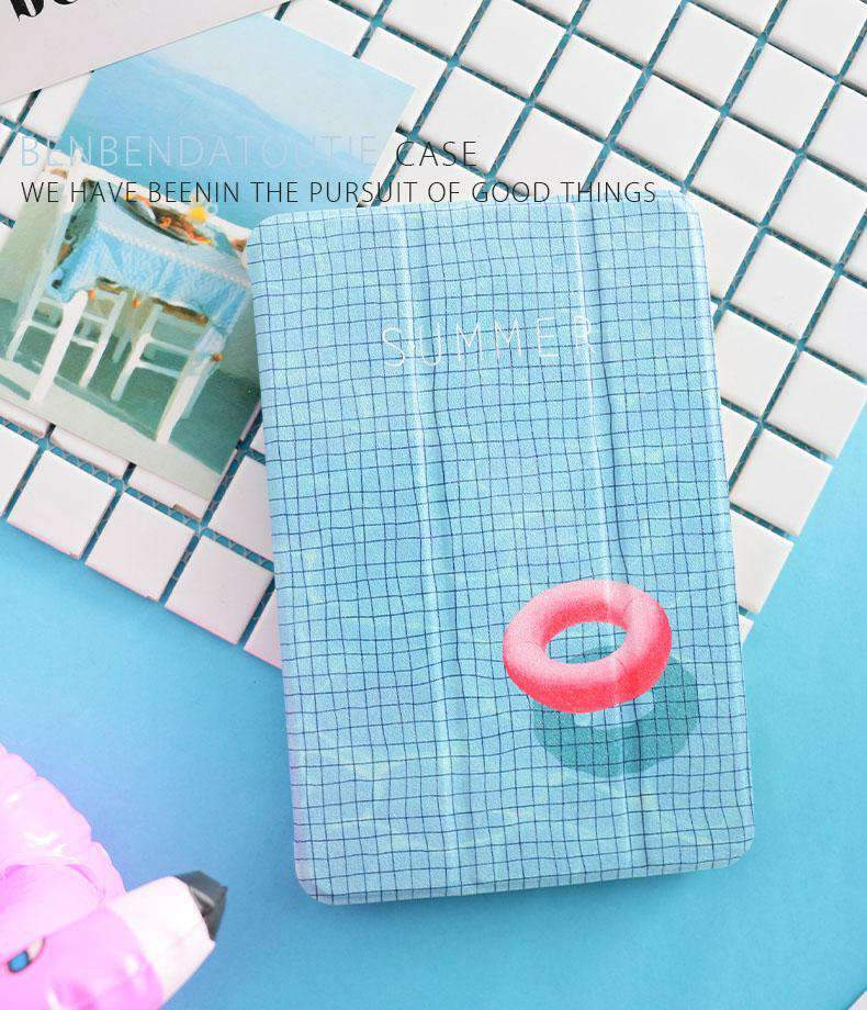 Creative Swim Ring Apple iPad Cover Case
