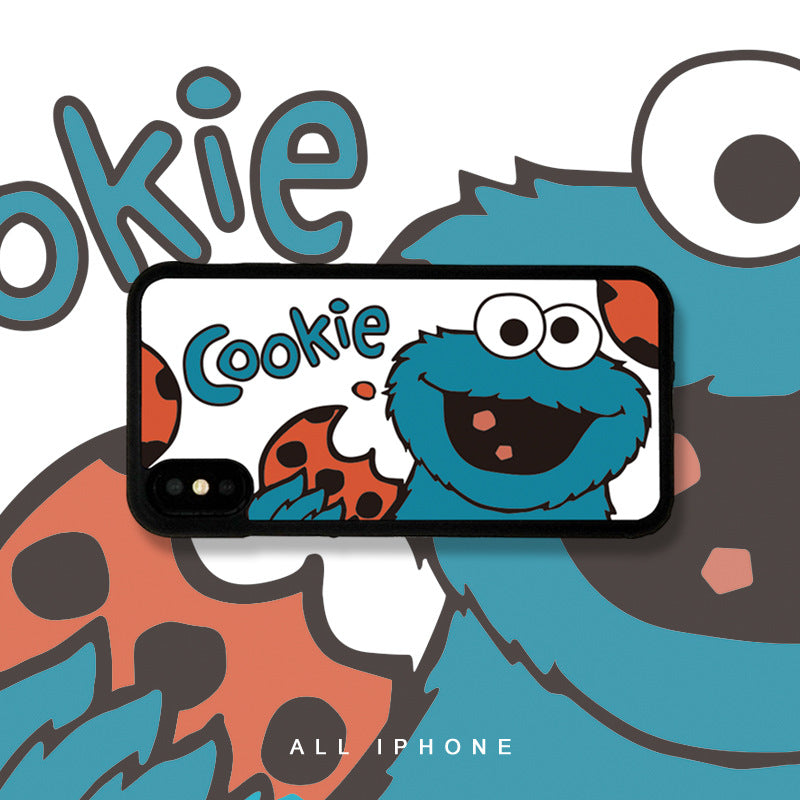Sesame Street Cookie Monster iPhone Case