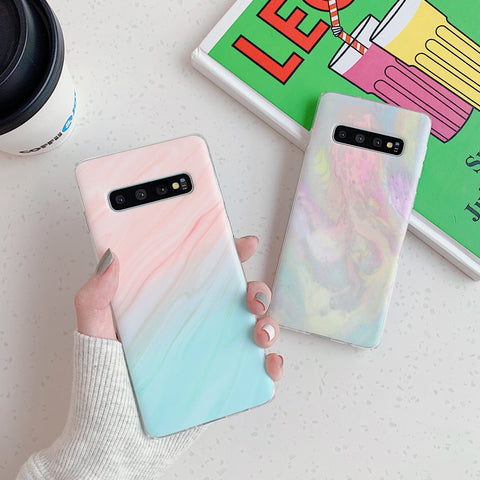 Marble Tie Dye Print Phone Case for Samsung gallery 7