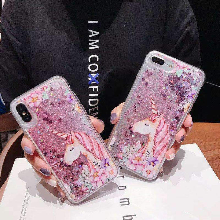 Floral Pattern Cute Horse Heart Fragments Samsung Case gallery 1