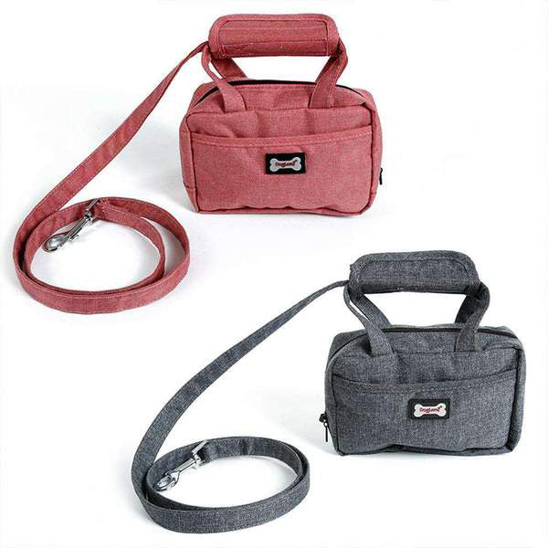 Neo Adjustable Handle with Portable Bag For Pet