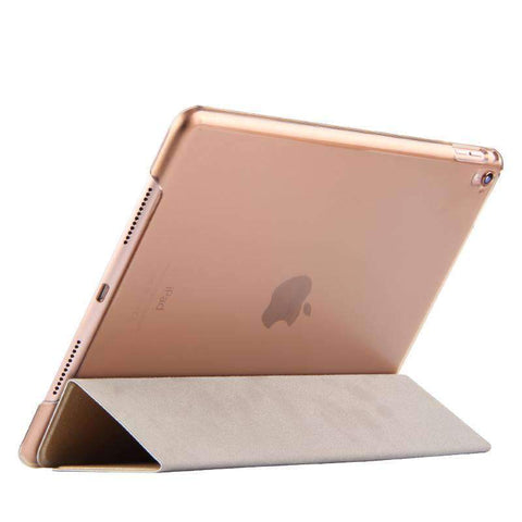 Contracted Solid Color Smart Stand Apple iPad Cover Case gallery 6