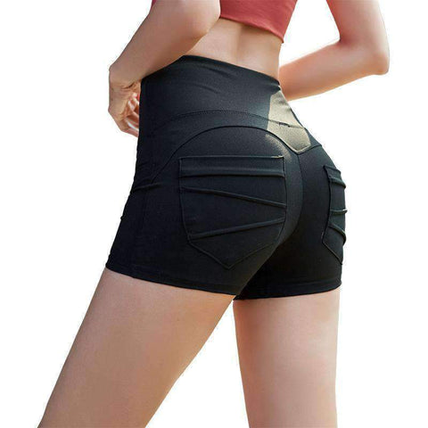 Breathable High Elasticity Fitness Sports Yoga Shorts gallery 5