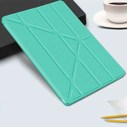 Solid Color Apple iPad Cover Case with Capacitive Pen gallery 5