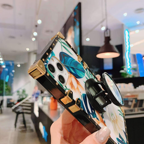 Floral Print Phone Case for Samsung with Phone Holder gallery 12