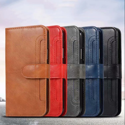 Retro Multi-functional Leather Phone Case for Samsung gallery 9