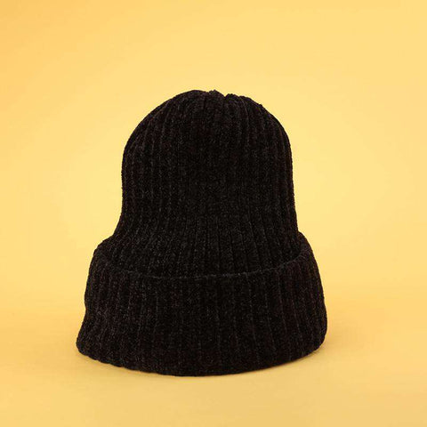 Winter Thick Soft Chenille Knitted Woolen Hat gallery 8