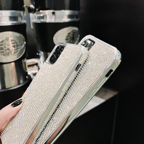 Sparkle All-Over Crystal Stud Phone Case for Samsung with Hand Strap gallery 7