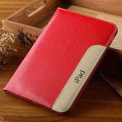 Anti-Fall Leather Apple iPad Cover Case gallery 2