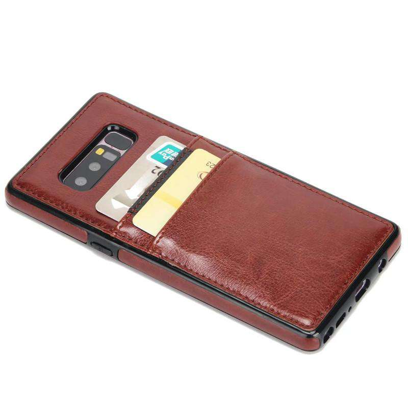 Samsung Galaxy Note 8 Creative Business Vibe Phone Case With Card Holder