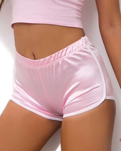 Contrast Binding Sports Shorts gallery 13