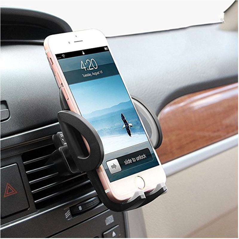 buy online 70b94 0ae0e Universal Smartphone Holder Stand Car Air Vent Mount Support Mobile Phone  Accessories For iphone x 7 6s xiaomi redmi note 5