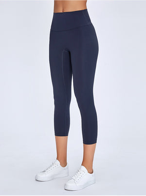 High Waist Buttery Soft Butt Lifting Capri Leggings