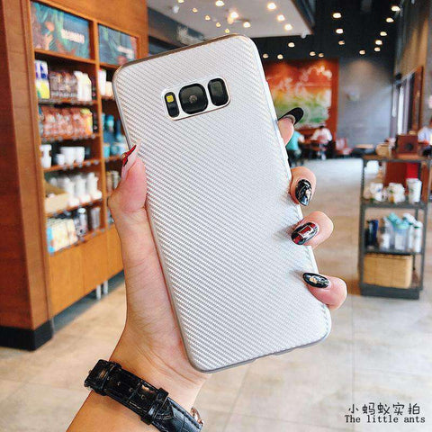 Textured Plain Phone Case for Samsung gallery 2