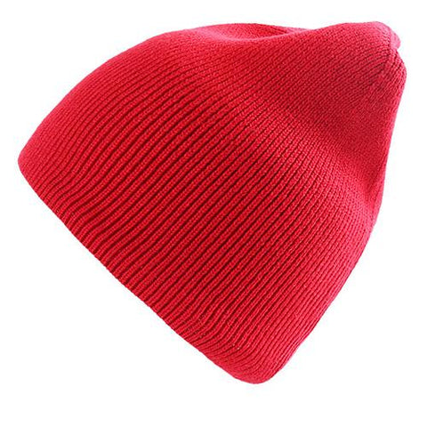 10 Colors Solid Rib Knit Beanie gallery 9