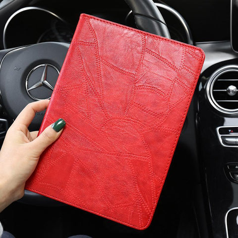Faux Leather Foldable iPad Cover Case gallery 2