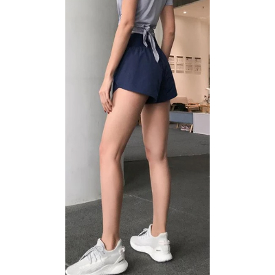 Pocket Patched Side Wide Waistband Sports Shorts gallery 9