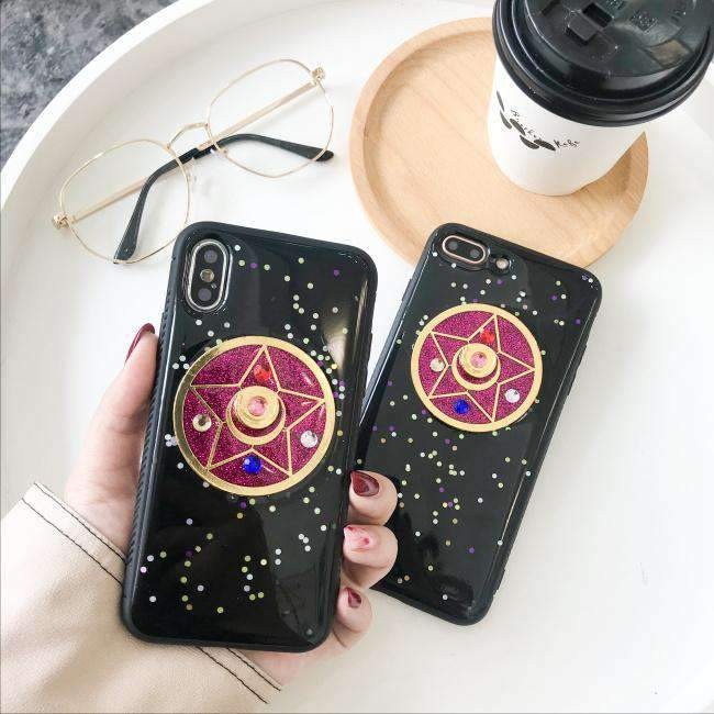 Beautiful Girl iPhone Case with Stars