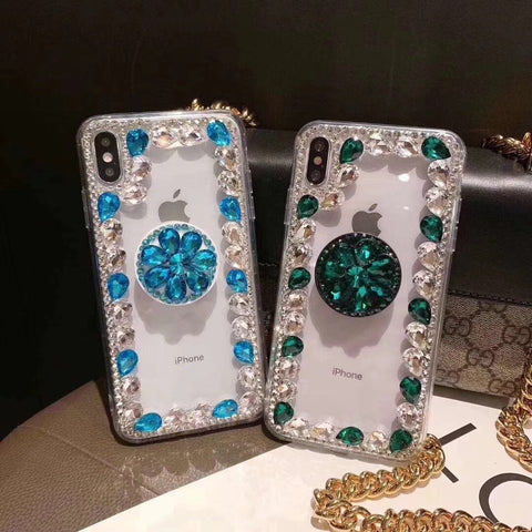 Ring Rhinestone Phone Case for Samsung with Phone Holder gallery 5