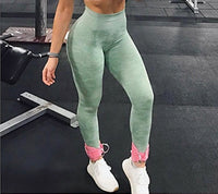 Seamless Camouflage Figure-contouring Shades Yoga Pants Leggings