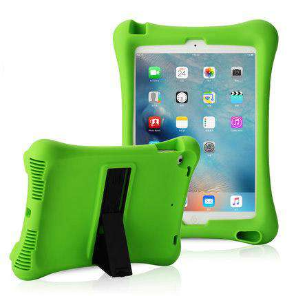 Soft Silicon iPad Cover Case with Holder gallery 2