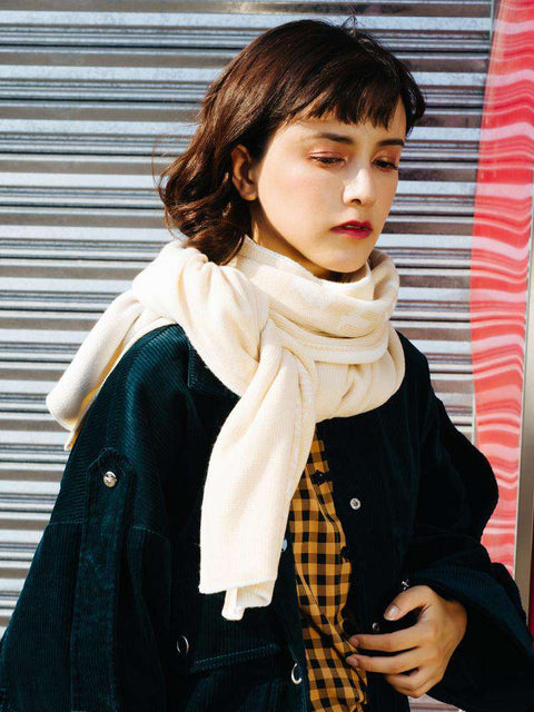 Long Warm Thick Woolen Scarves gallery 2