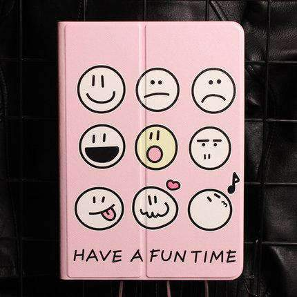 Cute Various Expressions Designed Apple iPad Cover Case gallery 3