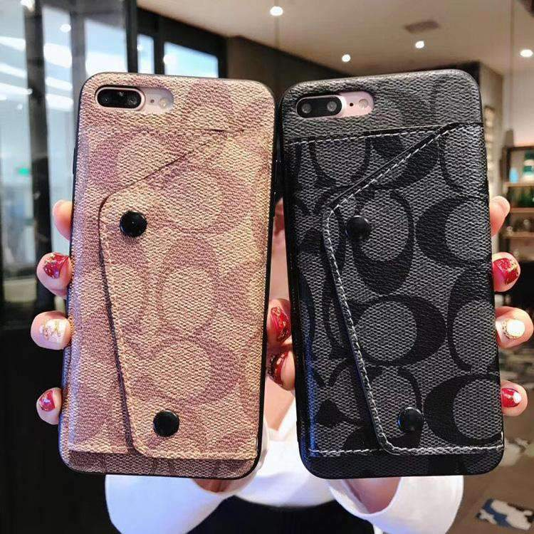 Leather Floral Print Phone Case for Samsung with Card Holder